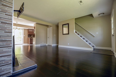 Condo Entry and Living Room