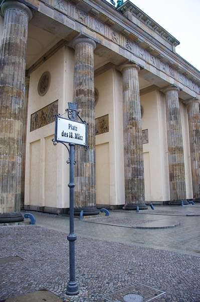 Brandenburger Tor, Berlin 1