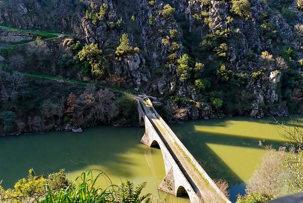 Ponte Filipina - Entre Pedrogão pequeno e Pedrogão grande