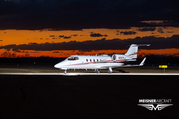 Lear 60 N207LJ (High Res w/Logo)