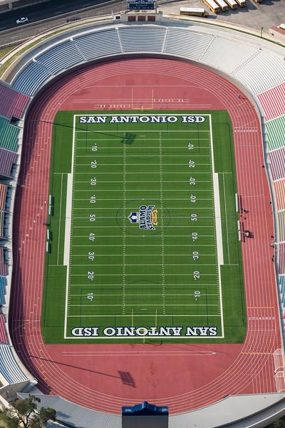 09/23/2014 093426 -- San Antonio, TX -- © Copyright 2014 Mark C. Greenberg  Alamo Stadium