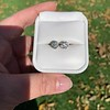 1.70ctw Old European Cut Diamond Clover Stud Earrings, GIA H-I SI 20