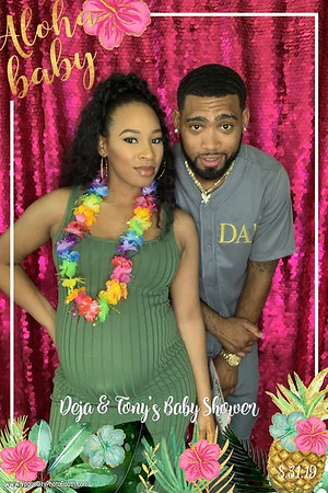 Tony & Deja's Baby Shower 8-31-19