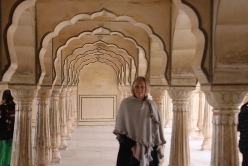 Bobbi in Amber Fort