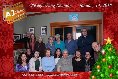 O'Keefe-King Reunion