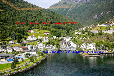 Hellesylt and Geirangerfjord