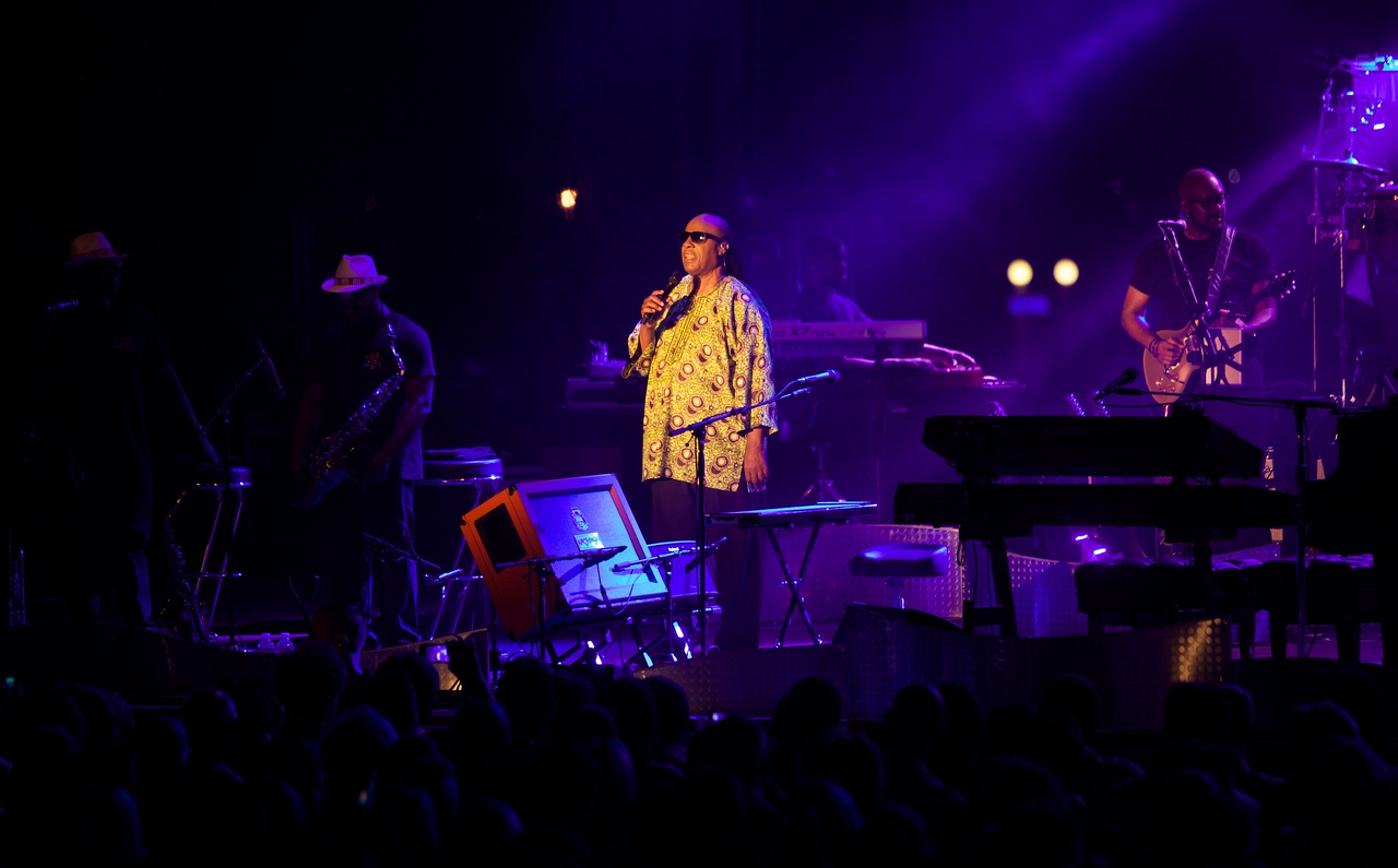 Stevie Wonder at Jazz a Juan 2014
