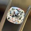 1.39ct Antique Cushion Cut Diamond, GIA J, SI1 2