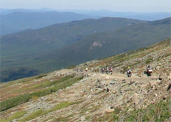 225a Mt Washington road, ascent. photo credit, Gringo