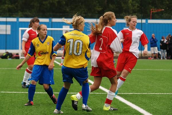 Eastleigh Ladies (4) v Poole Town Ladies (1) 28.8.2016