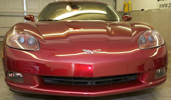 2010 Chevy Corvette Red
