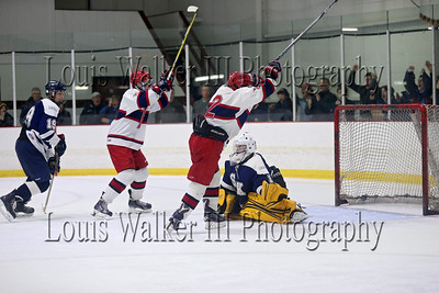Hockey Playoffs Game 3 South Kingstown at Portsmouth on 3/14/16
