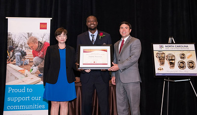 2018-05-11: Wells Fargo 2018 NC Principal of the Year Ceremony