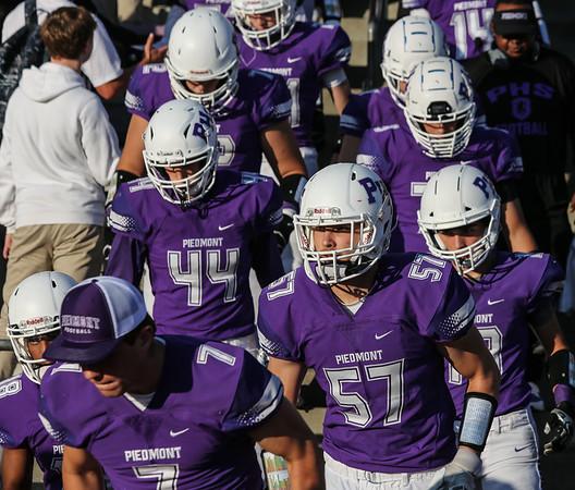 Piedmont Varsity vs Justin Siena 8-17-18