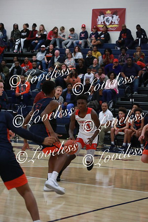 Boys Varsity Basketball vs Blackman 12/12/19