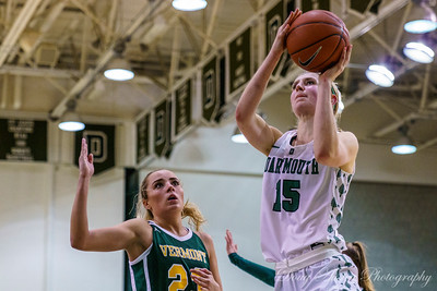 UVM vs Dartmouth Women's Basketball