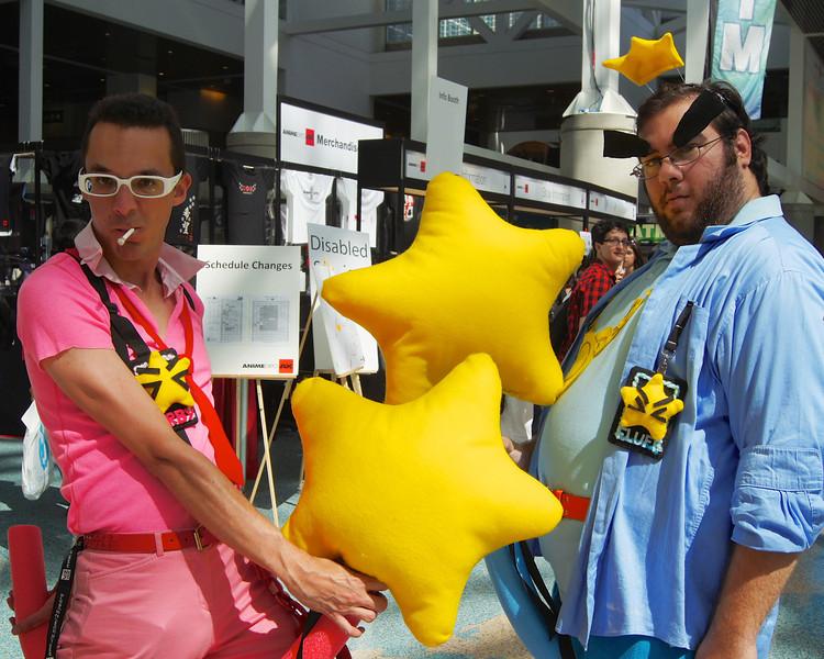 Kirby and Prince Fluff cosplay ref: 04a2414e-b4b6-4b36-8097-fd4b87c6b3e3