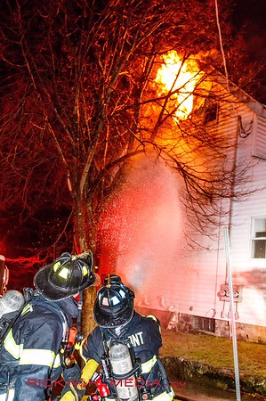 3 Alarm Structure Fire - 608 Trapelo Rd, Belmont, MA - 1/23/17