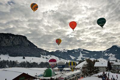 Festival des ballons Château-D'Oex