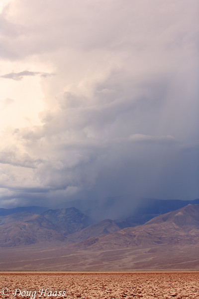 The Devil's Golf Course during a thunderstorm