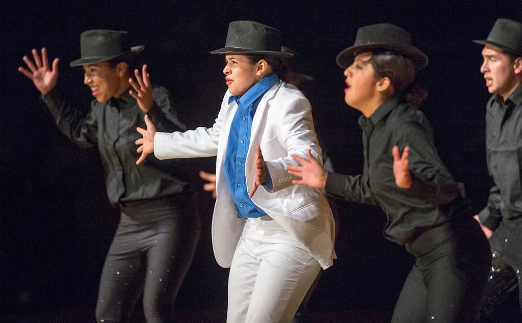 . Pioneer High School presents a preview of its 50th annual Titanette Revue entitled Luv to Dance at the Whittier campus April 17, 2013.   (SGVN/Staff photo by Leo Jarzomb)