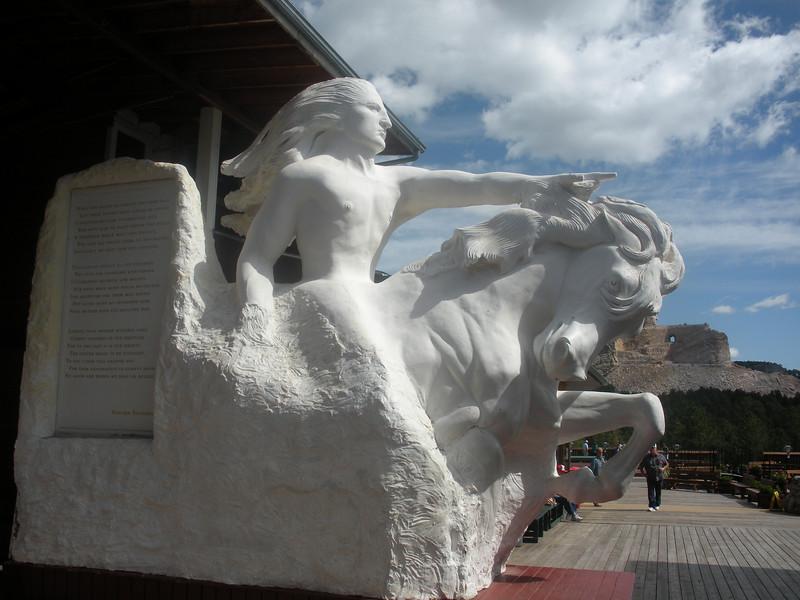 Crazy Horse Monument.