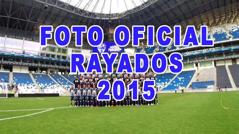 Foto Oficial Rayados 2015