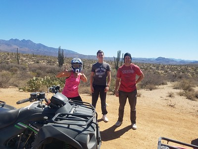 3-30-18 am ATV tour Dustin
