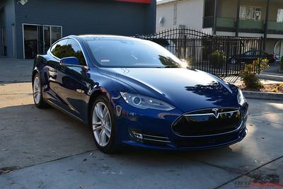 2017 Tesla Model S - Deep Blue Metallic
