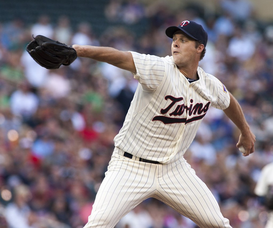 """. <p><b> According to ESPN�s latest scientific calculations, there is now only a 0.1 percent chance that the Minnesota Twins � </b> <p> A. Make the playoffs  <p> B. Win the 2013 World Series   <p> C. Retire Andrew Albers� number  <p><b><a href=\'http://espn.go.com/mlb/standings\' target=\""""_blank\"""">HUH?</a></b> <p>    (AP Photo/Paul Battaglia)"""