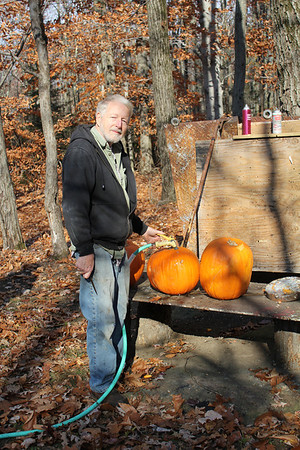 2013 Pumpkin shooting