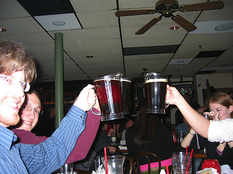 14 - A beer toast to Heather.JPG