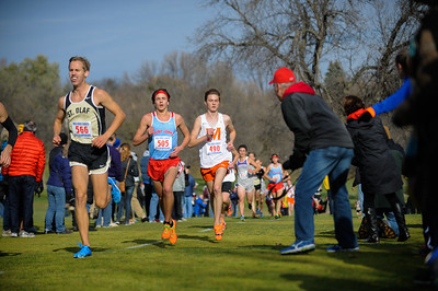 2014 11 01 Men at MIAC Conference Meet