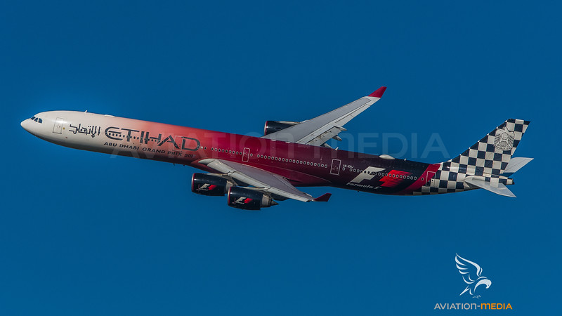 Etihad / Airbus A340-642 / A6-EHJ / Formula One Livery