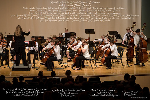 2018 May NMS Orchestra Concert