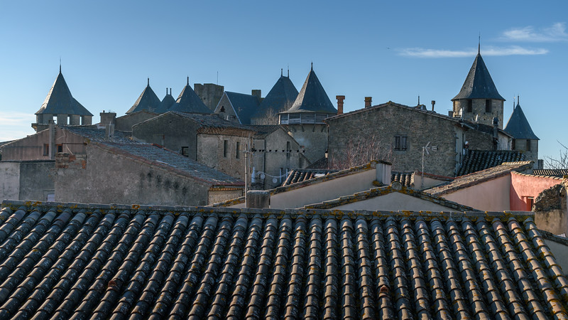 Rooftops of Carcassone