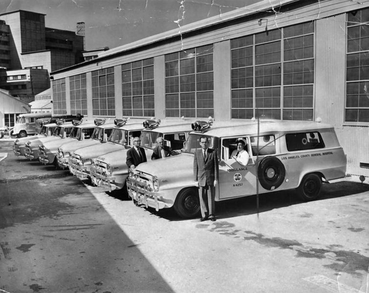 1958, New Ambulances