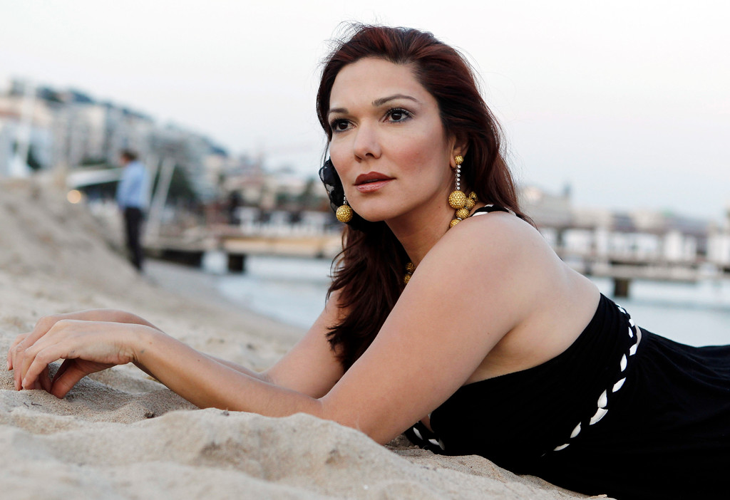 . Actress Laura Harring poses for a portrait during the 63rd Cannes international film festival, in Cannes, southern France Wednesday, May 19, 2010.  (AP Photo/Matt Sayles)