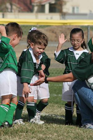 Tyler's Soccer game