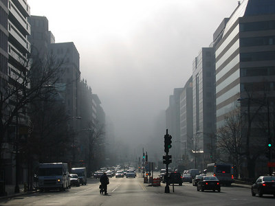 december 14th 2006 - downtown fog