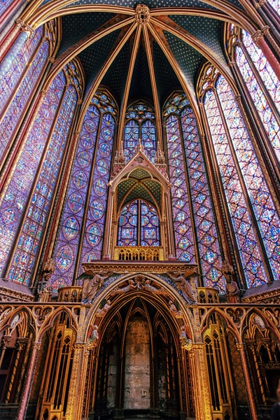 Sainte-Chapelle - King's Chapel Knave