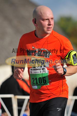 Finish, Gallery 2 - 2012 Brooksie Way Half Marathon