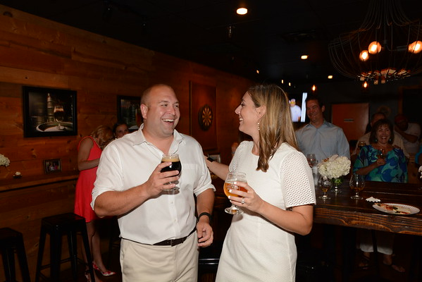 2016: Steve and Sarah Anderson's Wedding Reception at Lakewood Brewery - June 25