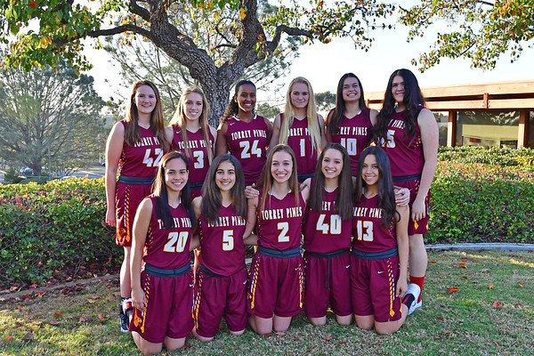 TP Varsity Girls Basketball Team