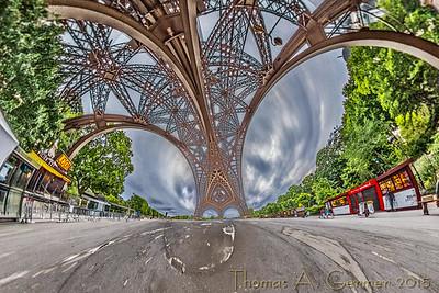 Under the Eiffel