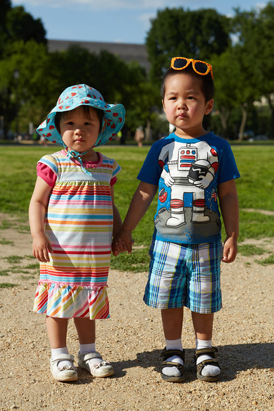 Nathan and Sophia - June 2014