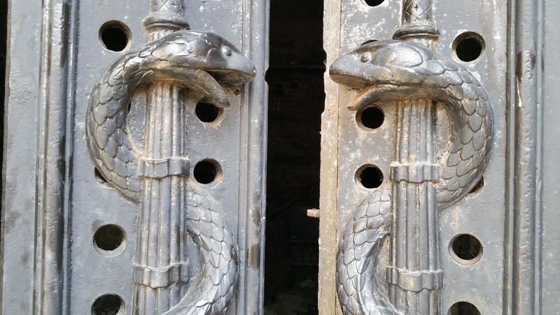 Catacomb snake protectors!