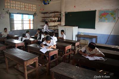 Lolie School across from Lolie Temple