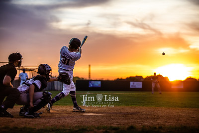 Baseball (JV) vs Meeker, April 9