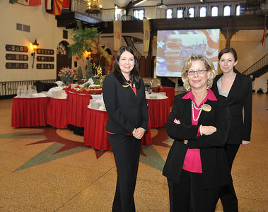 Sponsor Recognition Ceremony Jan. 2011